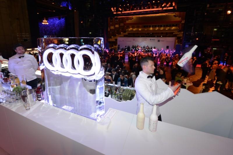 21. Festliche Operngala für die Deutsche Aids-Stiftung in der Deutsche Oper in Berlin mit neuem Hauptsponsor Audi am 10.01.2015
